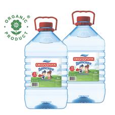 Питьевая артезианская вода высшей категории «ОКОЛОЛУГА ДЕТСКАЯ» 5 л, 2 шт./упаковка