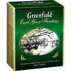 "Чай ""Greenfield Earl Grey"" 100 пакетиков"