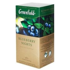 "Чай ""Greenfield Blueberry nights"" 25 пакетиков"
