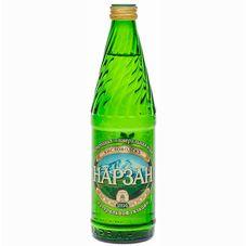 Минеральная вода «Нарзан» естественный газ стекло  0,5 л , 20 шт./упаковка