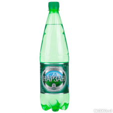 Минеральная вода «Нарзан» 1 л газ, 6 шт./упаковка