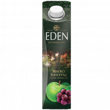 """Сок """"EDEN""""  Яблоко-виноград"""