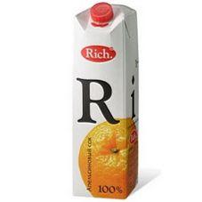 Сок RICH апельсин, 1 л
