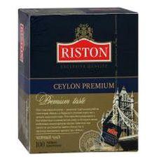 """Чай """"Riston Ceylon Premium"""", черный, 100 пакетиков"""