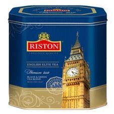"Чай ""Riston English Elite"", черный листовой, ж/б, 350 г"