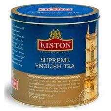 """Чай """"Riston Supreme English"""", черный листовой, 300 г"""