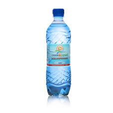 """Минеральная вода """"Синеборье"""" газ 0,6 л, 12шт./упаковка"""