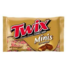 "Набор шоколадных батончиков ""TWIX MINIS"" 184 гр."