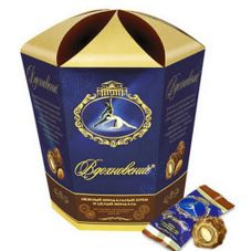 """Конфеты """"Вдохновение"""" шоколадные с миндалем, 150 г"""