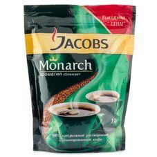 Кофе Jacobs Monarch натуральный растворимый сублимированный, 150г