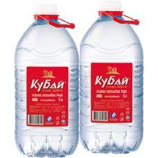"""Питьевая горная вода """"Кубай"""" 5 л, 2 шт./упаковка"""