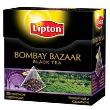 "Чай ""LIPTON Bombay Bazaar"" 20 пакетиков"