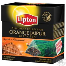 "Чай ""Lipton Orange Jaipur"" 20 пакетиков"