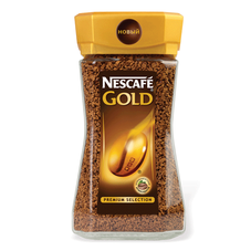 Кофе Nescafe Gold растворимый, 190г