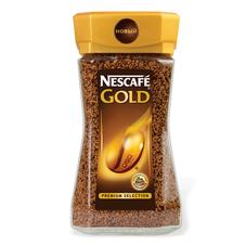Кофе Nescafe Gold растворимый, 190г