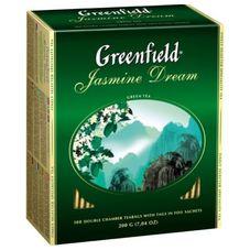 "Чай ""Greenfield Jasmine Dream"" 100 пакетиков"