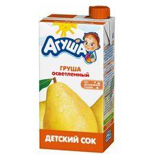 """Сок осветленный """"Агуша"""" Груша 0,5 л, 15 шт./уп."""