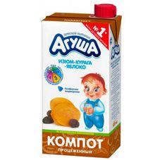 """Компот """"Агуша"""" Курага-изюм-яблоко 0,5 л, 15 шт./уп"""