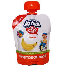 "Пюре фруктовое ""Агуша Я Сам"" Банан 10 шт./уп."