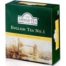 """Чай """"AHMAD Еnglish Tea №"""" 100 пакетиков"""