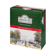 """Чай """"AHMAD English Breakfast"""" черный 100 пакетиков"""