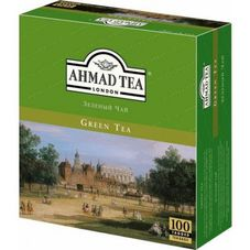 "Чай ""AHMAD Green Tea"" 100 пакетиков"