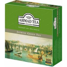 "Чай ""AHMAD Jasmine Green Tea"" 100 пакетиков"