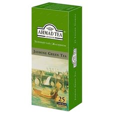 "Чай ""AHMAD Jasmine Green Tea"" 25 пакетиков"