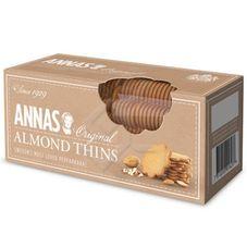 Печенье ANNA'S тонкое миндальное