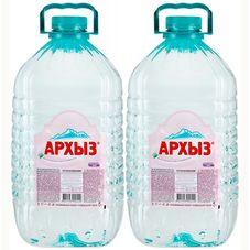 """Минеральная вода """"Архыз"""" 5 л, 2 шт./упаковка"""