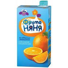 """Сок """"Фрутоняня"""" Апельсин 0,5 л, 25 шт./уп."""