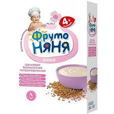 """Каша """"Фрутоняня"""" Гречневая безмолочная 200 г, 9 шт./уп."""