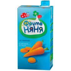 """Нектар """"Фрутоняня"""" Морковь с мякотью 0,5 л, 25 шт./уп."""