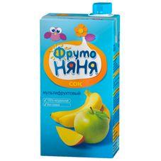 "Сок ""Фрутоняня"" мультифрукт Яблоко-банан-манго 0,5 л, 25 шт./уп."