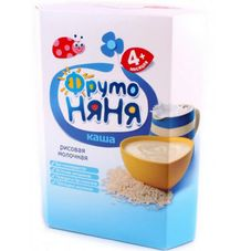 """Каша молочная """"Фрутоняня"""" Рисовая 200 г, 9 шт./уп."""