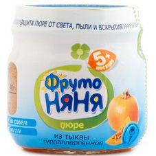 "Пюре ""Фрутоняня"" Тыква 80 г, 12 б./уп."
