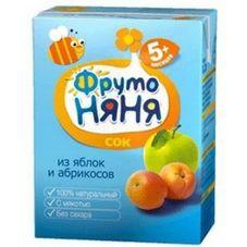 "Нектар ""Фрутоняня"" Яблоко-абрикос 0,2 л, 27 шт./уп."