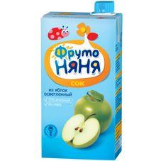 """Сок """"Фрутоняня"""" Яблоко осветленный 0,5 л, 25 шт./уп."""