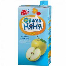 """Сок """"Фрутоняня"""" Яблоко с мякотью 0,5 л, 25 шт./уп."""