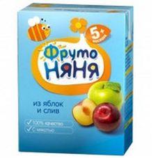 "Нектар ""Фрутоняня"" Яблоко-слива 0,2 л, 27 шт./уп."