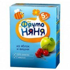 "Нектар ""Фрутоняня"" Яблоко-вишня 0,2 л, 27 шт./уп."