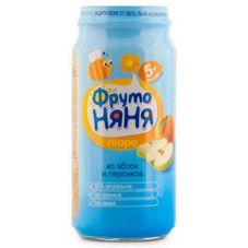 """Пюре """"Фрутоняня"""" Яблоко-Персик 250 г, 12 б./уп."""