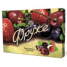 Конфеты Фруже глазированные ягоды фружеле в шоколаде, 200 г