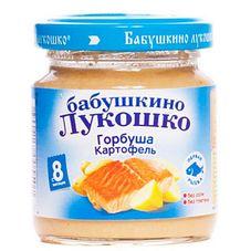 "Пюре Горбуша-Картофель ""Бабушкино лукошко"" 100 г, 6 б./уп."
