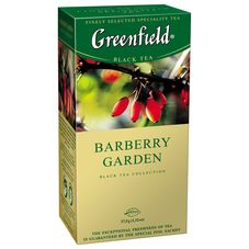 "Чай ""Greenfield Barberry Garden"" 25 пакетиков"