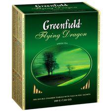"Чай ""Greenfield Flying Dragon"" 100 пакетиков"