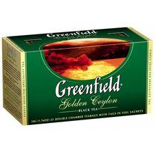 """Чай """"Greenfield Golden Ceylon"""" 25 пакетиков"""