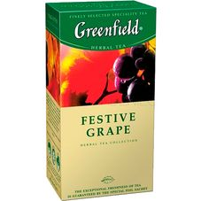 "Чай ""Greenfield  Festive Grape"" 25 пакетиков"
