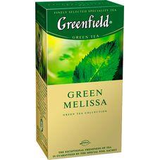"Чай ""Greenfield Green Melissa"" 25 пакетиков"