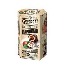 Конфеты Grondard Марципан с ореховой начинкой, 140 г
